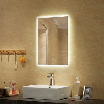 Wasserdichte Led Licht Sensor Touch Screen Badezimmer Spiegel