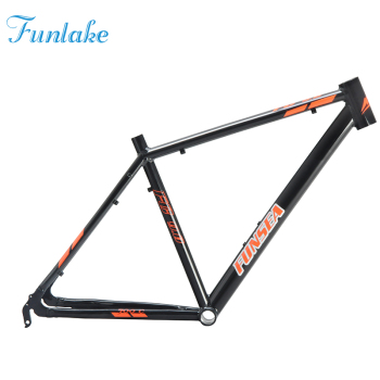 Funsea professional extreme sport bicycle manufacturer supply OEM ODM 700c black alloy #6061 racing road bike frame