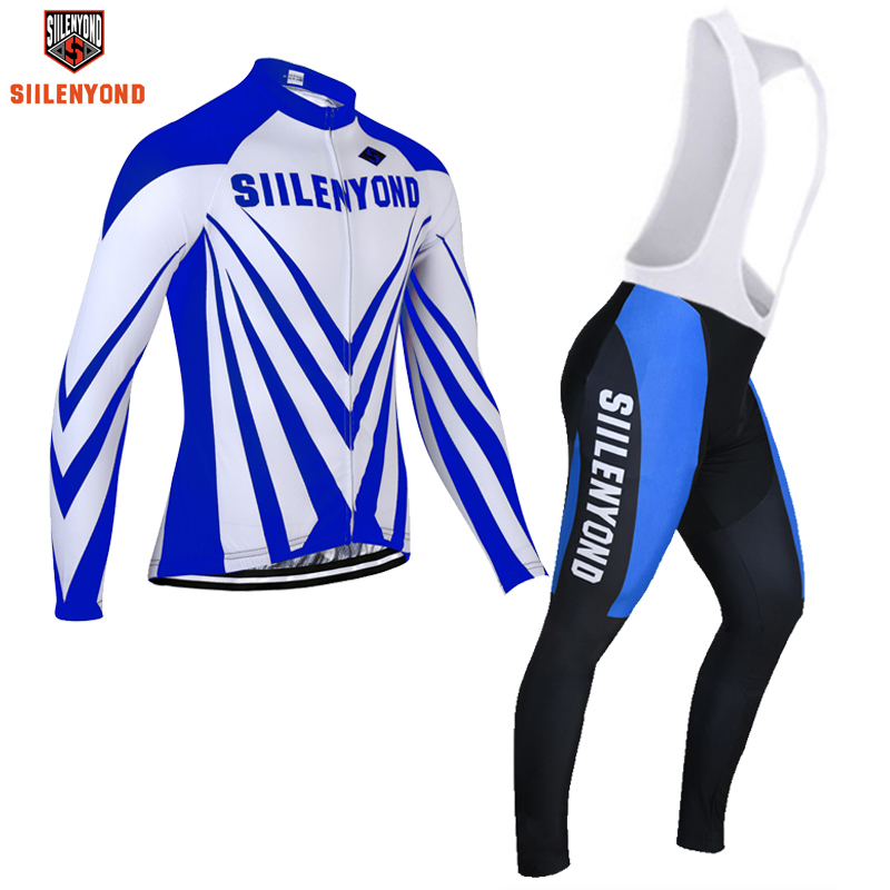 Pro SIILENYOND Brand Cycling Jerseys Pro Manufacturer/mtb bike Sportswear /Winter Thermal Fleece Bicycle Clothes #0019