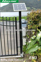 Solar Swing Gate Opener Solar Driveway Gate With 20 Watts Solar panel