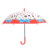 Wholesale lovely clear cute children umbrella with doughnut sweet full print