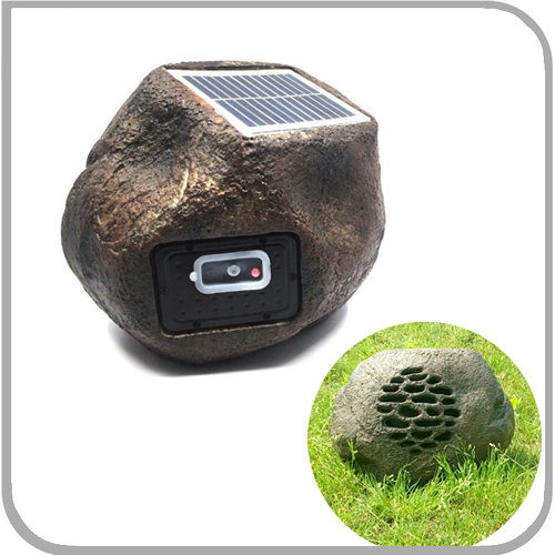 2018 NEW Solar Bluetooth Rock <strong>Speaker</strong>