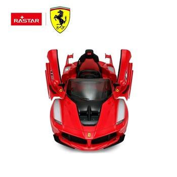RASTAR wholesale toy car LaFerrari kids ride on 12V electric cars toy
