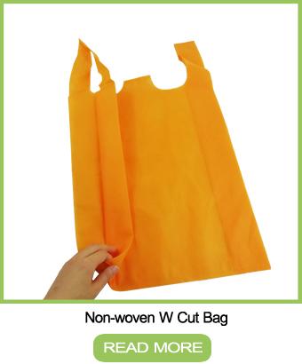 Cheap reusable non-woven die pp eco-friendly d cut non woven tote bag factory