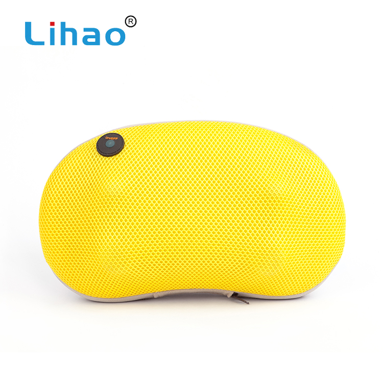 LIHAO New 2018 Products Multi-Purpose Waist Relax Shiatsu Air Massage Pillow