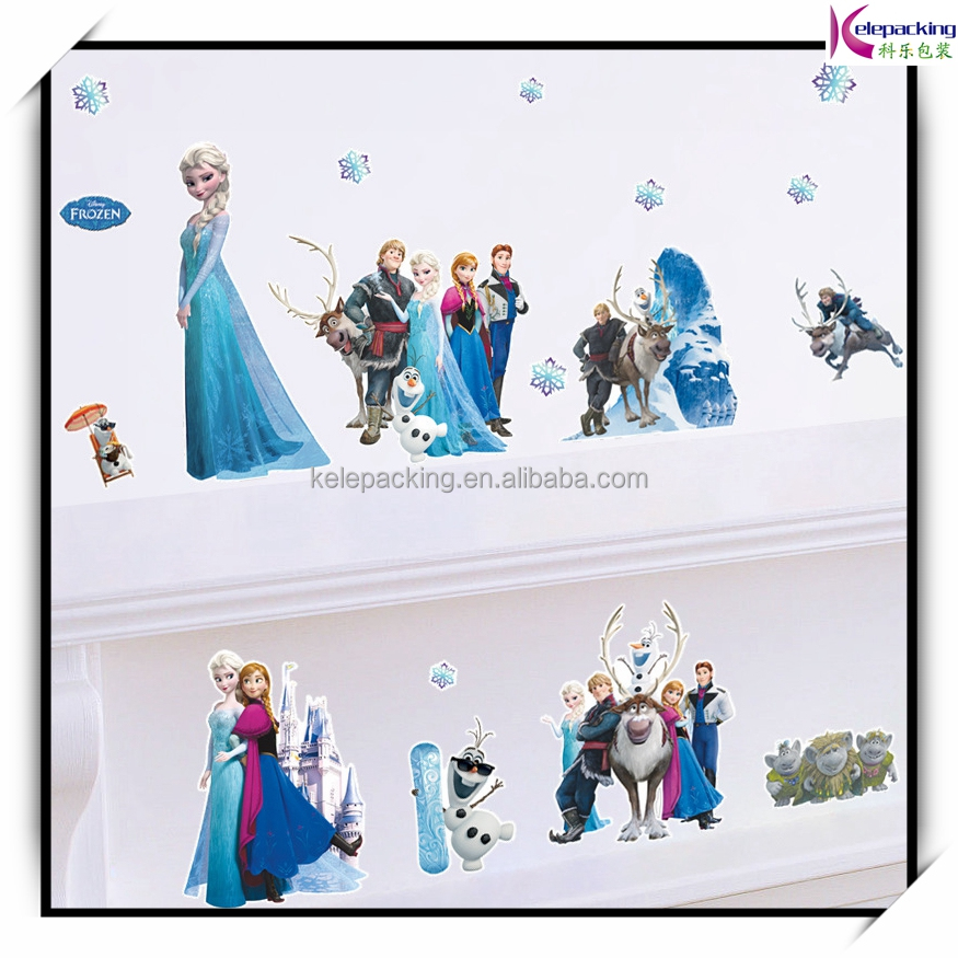 ZYPA Removable children room Wall Stickers for Kids Rooms DIY Bathroom Bedroom Home Decoration