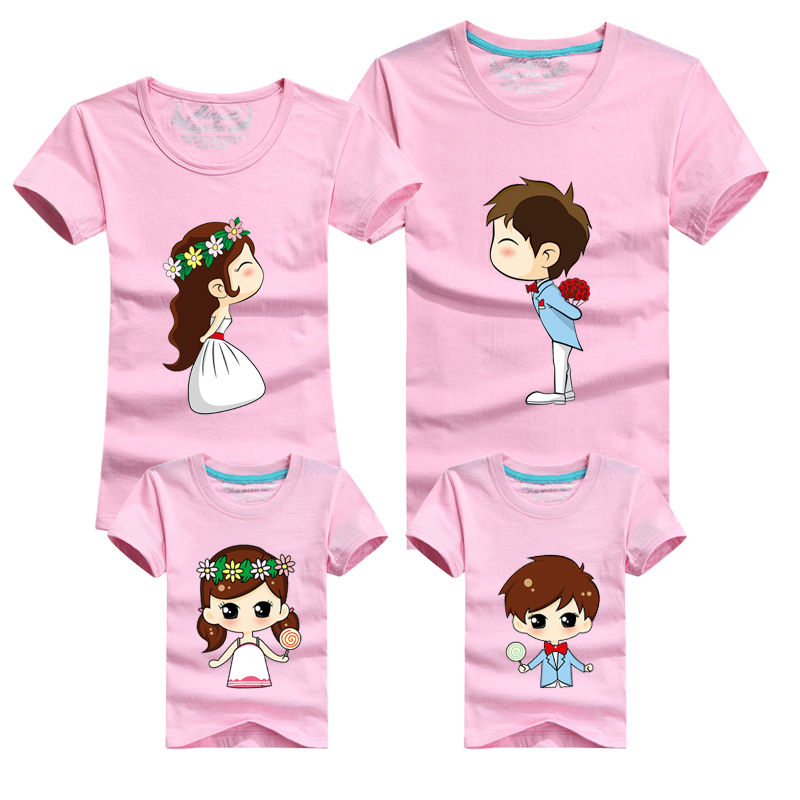 43d3a9538a027 Buy Family Matching Clothes Set Mother Father Baby Family Clothing Mom  Father Son Daughter Clothes Summer Style Family Look T Shirt in Cheap Price  on ...