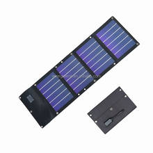 12W flexible and folding amorphous silicon solar mobile phone charger, solar cell charger