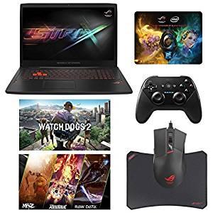 """ASUS ROG STRIX GL702VM-DB71 (i7-6700HQ, 32GB RAM, 500GB SATA SSD + 1TB HDD, NVIDIA GTX 1060 6GB, 17.3"""" Full HD, Windows 10) Gaming Notebook"""