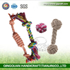 QingQ Factory Wholesale pet products cotton rope toys dog toys for chew