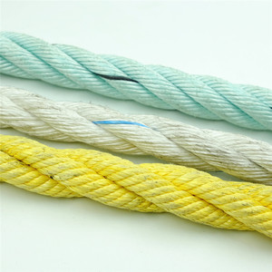 nylon (polyamide) material raw white color rope