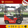 new condition and powdered pallet four wheels standing/seated electric forklift