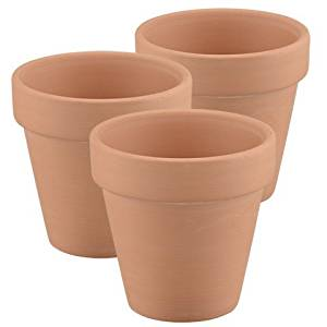 Mr Garden Clay Pots 2.5-Inch,Terracotta Pot Clay Ceramic Pottery Planter 10Pack