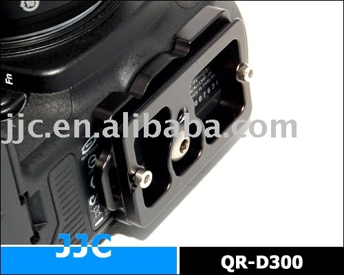 JJC Quick Release Plate for Nikon D300, D300S camera