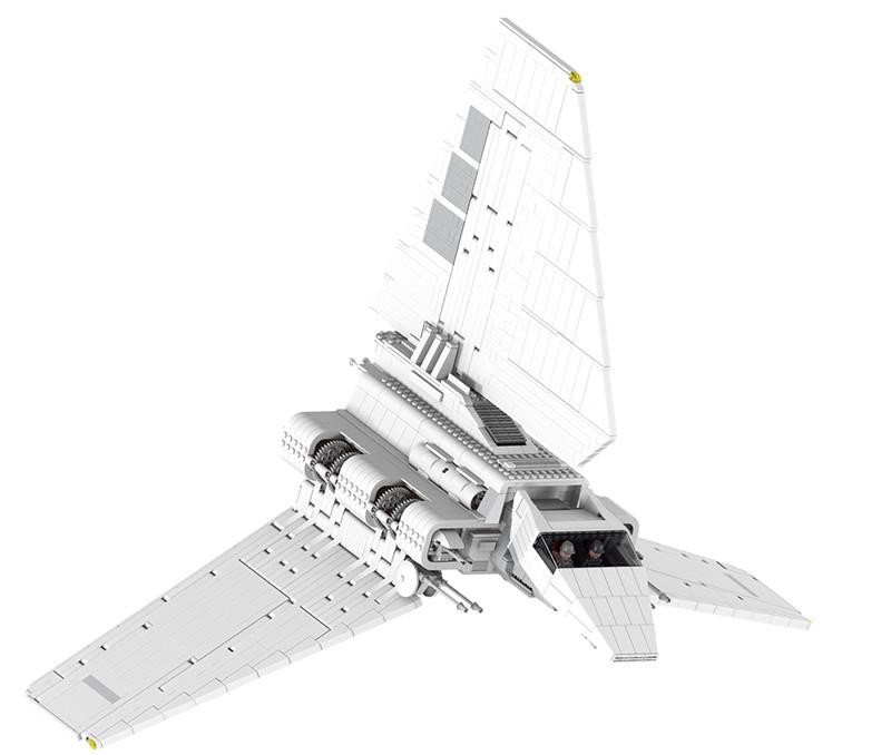 Star Wars Sets Imperial Shuttle Spacecraft