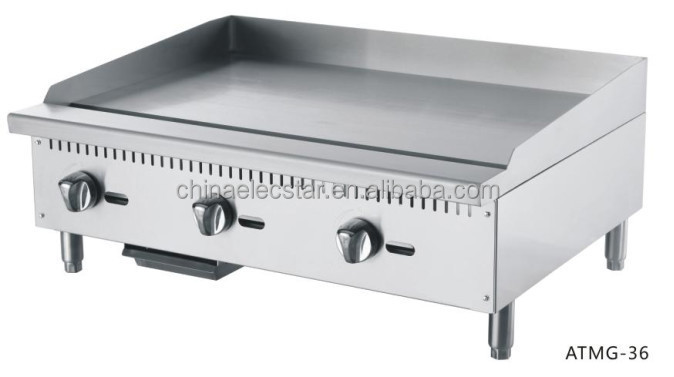 Griddle Plate For Gas Grill ~ Gas griddle counter top commercial stainless steel flat