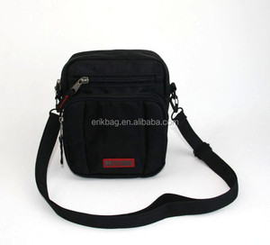 Personalized multi functional travel sling shoulder bag for men