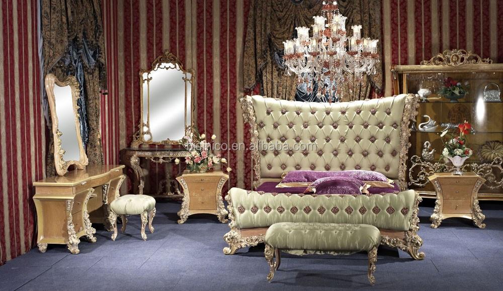 bisini luxe meubels,slaapkamermeubilair set/italiaanse klassieke, Deco ideeën
