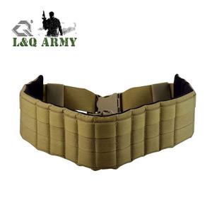 LQ ARMY 1000D Nylon Adjustable MOLLE Tactical Belt for Patrol