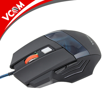 72017b9b141 Vcom Cheap Computer Mouse Drivers Usb 7d Gaming Mouse OEM Wired Gaming Mouse  with LED Light