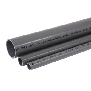 Original factory full form electrical pvc pipe frosted food grade certificate