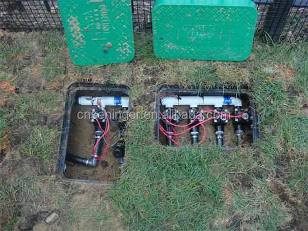 Rectangular underground sprinkler valve box with cover vb910 view rectangular underground sprinkler valve box with cover vb910 sciox Images