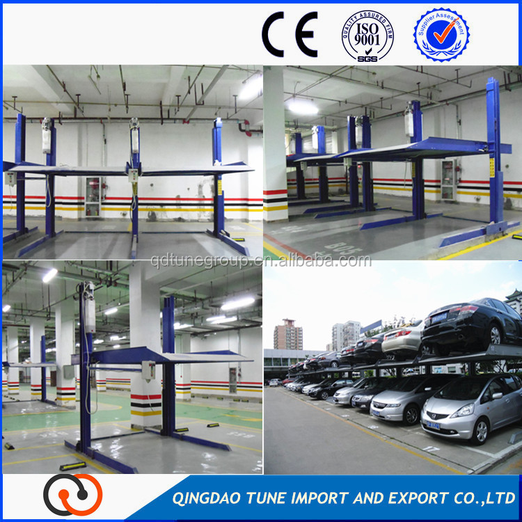 Hydraulic drive car parking equipment for public parking lot