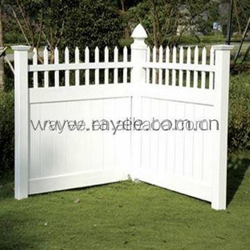 Doghe in pvc per recinzioni prezzo recinzione del vinile - Valla jardin pvc ...