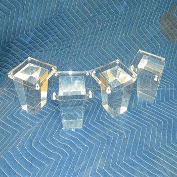 Acrylic Furniture Feet,Acrylic Coffee Table Legs,Acrylic Tables Legs