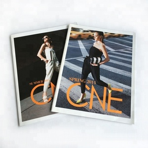 Customized fashion color magazine book cheap book printing