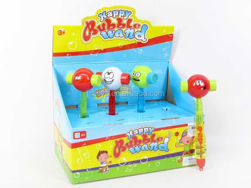 Toys For Kids Plastic Ring Hammer 2in1 Bubble Stick(12pcs),Bubble ...