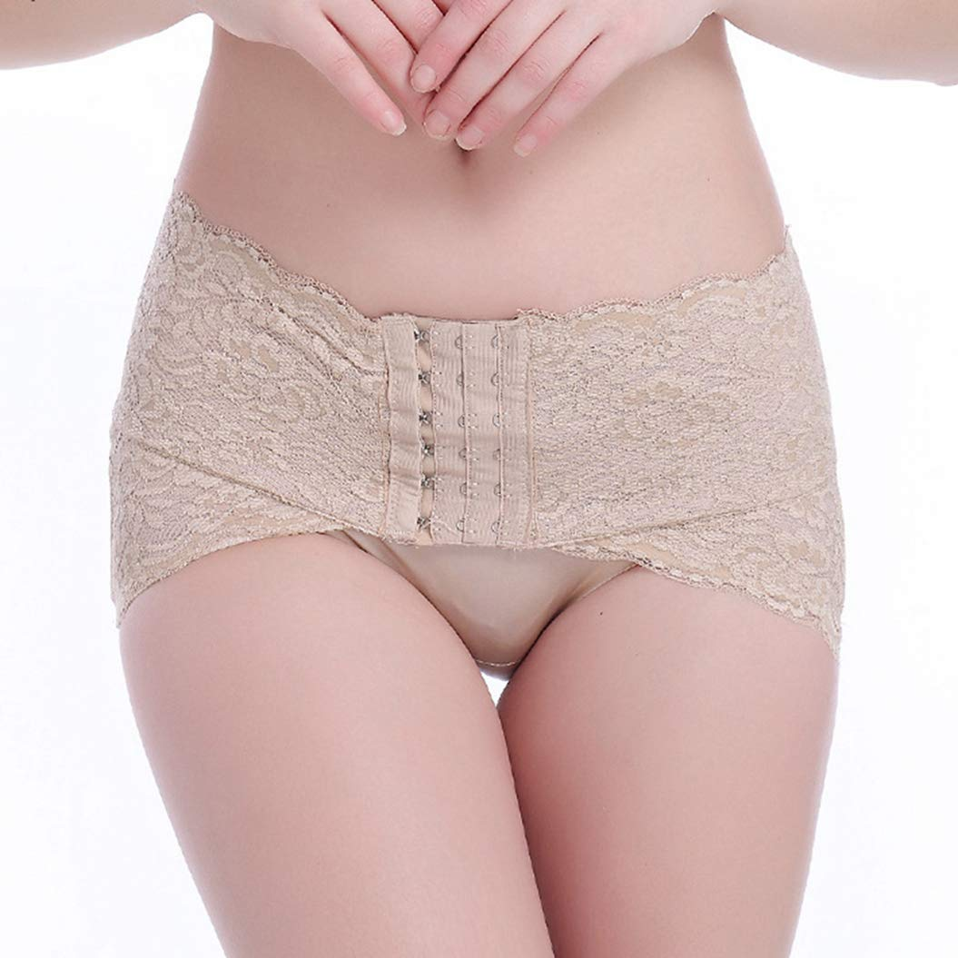 733fc58066 Get Quotations · ASO-SLING Womens Control Panties Lace Hook Lightweight  Anti-Slip Underwear Shaper