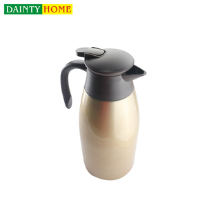 Custom wholesale thermal insulation camping coffee make pot vacuum