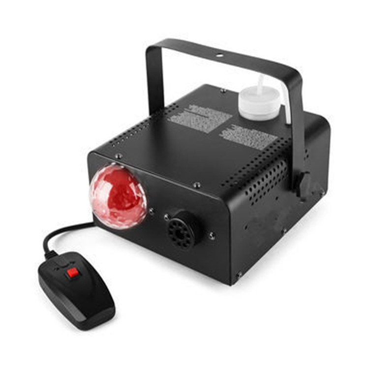 400W RGB LEDS Wire Control Fog Machine With LED Magic Ball