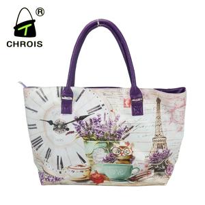 Las Taiwan Style Handbags New Fashion Digital Printed Bags