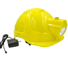 led lighted safety new design professional industry helmet for mining hard hat with led light