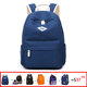 2018 wholesale fashion teenage bagpack backpack college bag day backpack for sale 6 style on set