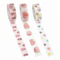 Japanese Crepe Rice Paper Free Sample Custom Photo Vintage Washi Tape