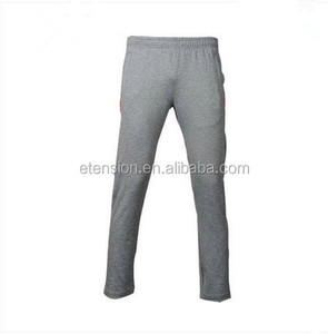 Cheap Wholesale Custom Print Slim Men Knit Track Pants