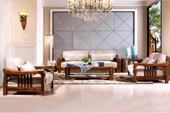 Great Living Room Teak Wood Sofa Set Design Part 4