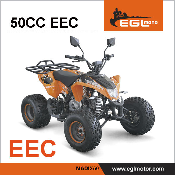 EEC 4 stroke 50cc Automatic Atv For Kids
