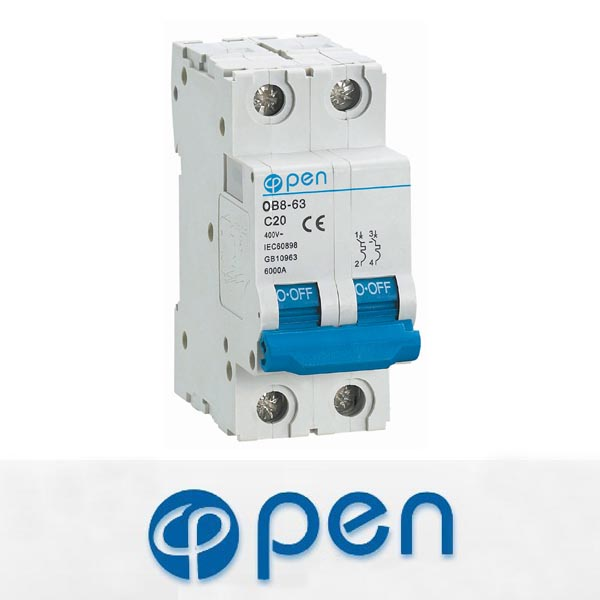 OB8-63 Mini merlin gerin circuit breaker