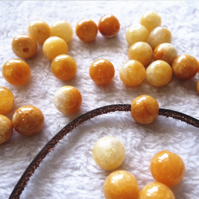 2018 Hot sale big hole size tiger eye round beads , 2mm hole size natural gemstone beads