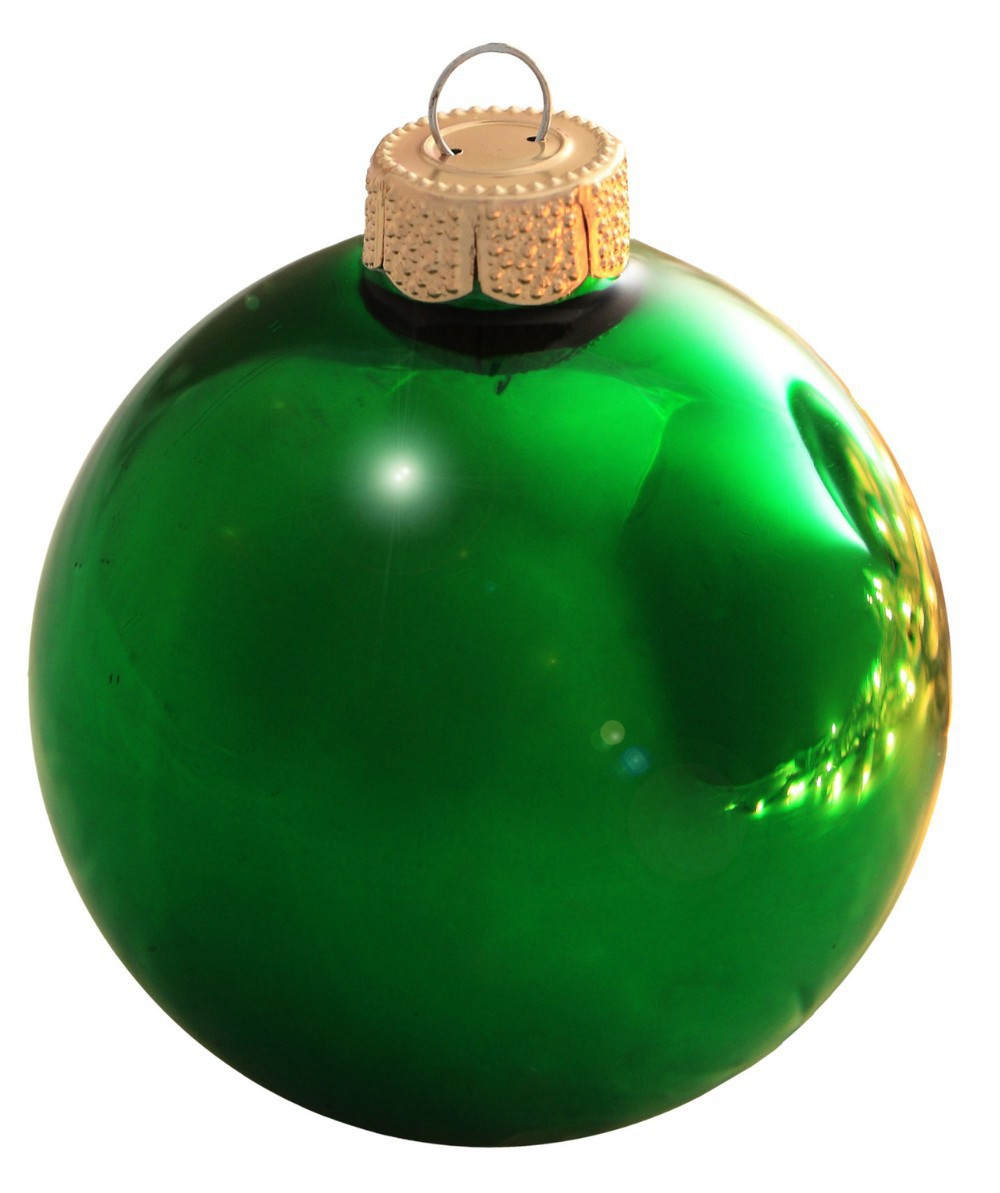 get quotations free shipping event party bauble ornaments christmas xmas tree glass balls decoration 80mm christmas green ball