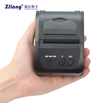 5809D Mobile Printer Thermal Bluetooth SDK for Parking Receipt