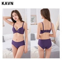 wholesale custom bra and panty set bralette seamless bra set