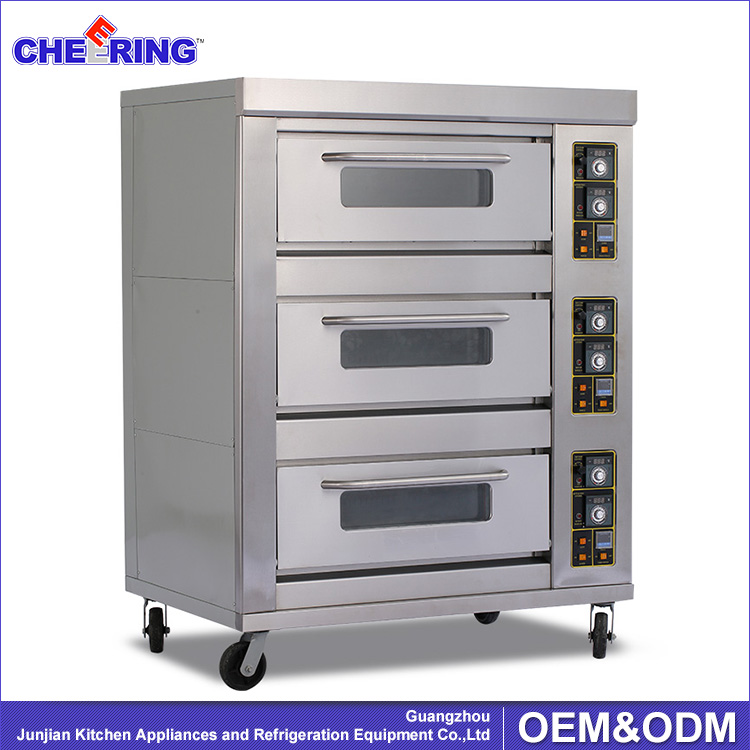 Bakery equipment price gas bread baking oven