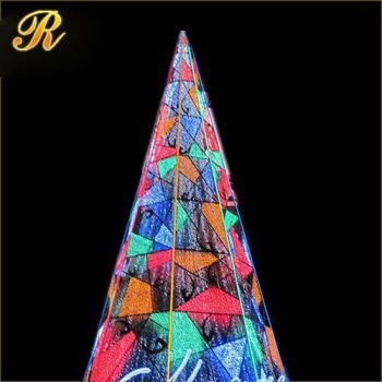 metal christmas tree frame led lights tree outdoor christmas train decoration christmas tree with leds - Outdoor Christmas Trees