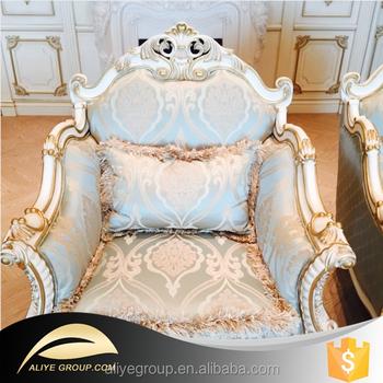 Exceptionnel KA1021 Fabric Sofa ,l Shape Wooden Sofa, Antique Floral Fabric Sofa And Big