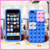 For iphone 4/5/5c lego silicon case for iphone 4s------factory supply